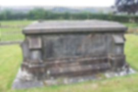 The grave of King James III and Queen Margaret, Cambuskenneth Abbey