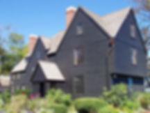 HOUSE OF SEVEN GABLES, SALEM, MASSACHUSETTS, USA