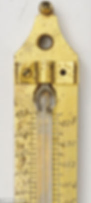 Alcohol thermometer.