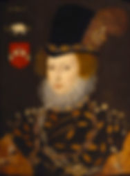 Elizabeth Knollys,Lady Leighton  Unknown Artist 1577
