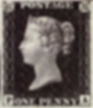 The first postage stamps (Penny Post)