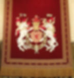 Arms of James IV displayed in the Great Hall he built at Stirling Castle