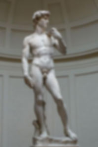 The Statue of David, completed by Michelangelo in 1504