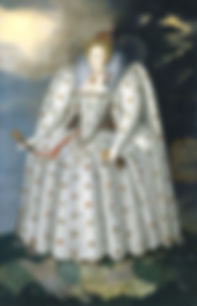 The Ditchley Portrait of Elizabeth by Marcus Gheeraerts the Younger  1592