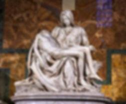 Michelangelo's Pietà, St Peter's Basilica (1498–99)