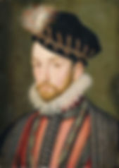 Charles IX Reign 5th December 1560 – 30th May 1574 Portrait by François Clouet, c. 1572#kingsoffrance#