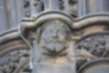 James V, on the Scott Monument