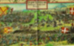 The Battle of Guinegat(Spurs) 16th August 1513 ArtistGeorg Lemberger 1515