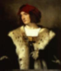 Portrait of a Man in a Red Cap, Titian, c. 1510