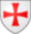 Arms of Hugues de Payens 1070 – 24 May 1136  the co-founder and first Grand Master of the Knights Templar
