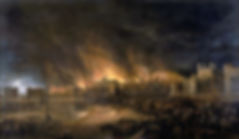 TheGreat Fire of London of 1666 byunknown painter `1669