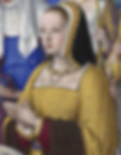 Anne of Brittany Queen consort of France  Duchess of Brittany  Spouses Maximilian I, Holy Roman Emperor  Charles VIII of France   Louis XII of France  Portrait by Jean Bourdichon   between 1503 and 1508  ​