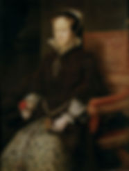 Mary Tudor,Portrait by Antonis Mor, 1554