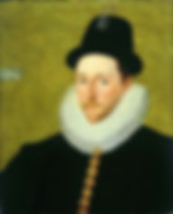 Peregrine Bertie,  13th Baron Willoughby de Eresby Portrait byRobert Peake the elder 1588-90