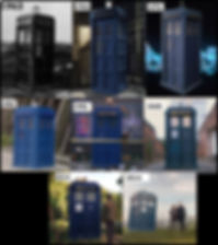Tardis history from 1963-2014