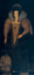 Elizabeth Raleigh byRobert Peake the Elder 1600