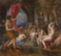Diana and Actaeon, 1556–1559