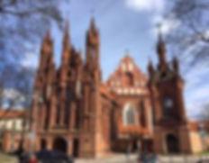 ST. ANNE'S CHURCH - 8 MAIRONIO GATVE, SENAMIESTIS, VILNIUS, VILNIUS COUNTY, LITHUANIA