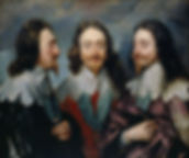 Charles I in Three Positions by van Dyck, 1635–36
