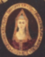 A depiction of Margaret from a family tree from the reign of her great-grandson, James VI/I of Scotland and England.