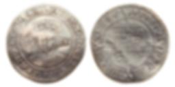 SHILLING WITH PORTRAIT OF EDWARD VI ENGLAND, 1550-53