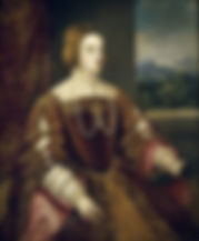 Isabella of Portugal  Holy Roman Empress Queen consort of Italy  SpouseCharles V, Holy Roman Emperor  Portrait by Titian,    1548