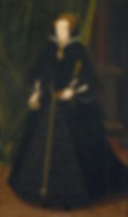 Mary Sidney lady-in-waitingat the court ofElizabeth I, PortraitbyHans Eworth. 1550–1555