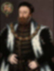 Edward Hastings, 1st Baron Hastings of Loughborough Privy CouncillorandMaster of the Horse. By Unknown Artist 1555