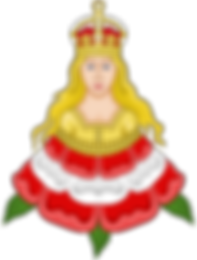 ROSE MAIDEN BADGE OF CATHERINE PARR