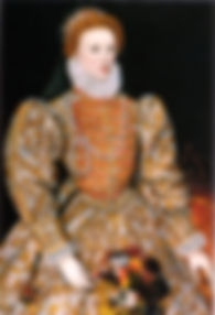 "ELIZABETH I ENGLAND.The ""Darnley Portrait"""