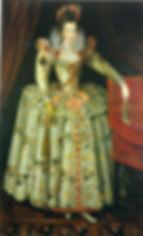 Anne Vavasour Attributed to John de Critz,  .1605