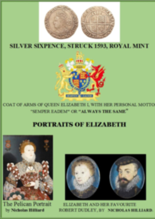 PORTRAITS OF ELIZABETH 1T ENGLAND