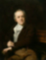 William Blake in a portrait by Thomas Ph
