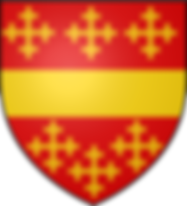 Thomas de Beauchamp, 11th Earl of WarwickCOAT OF ARMS English nobleman and military commander during the Hundred Years' War.
