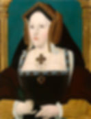 Catherine of Aragon Queen consort of England She was the youngest surviving child of KingFerdinandII of Aragonand QueenIsabellaI of Castile. Portrait byLucas Hornebolte Early 18thcentury
