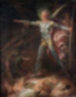 Satan Summoning his Legions (1790)  by Thomas Lawrence