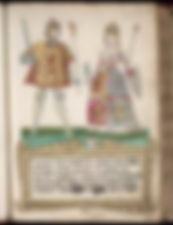 James III and his Queen Consort Margaret