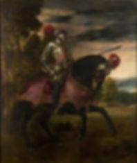 Equestrian Portrait of Charles V, 1548