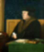 Thomas Cromwell  1st Earl of Essex byHans Holbein the Younger (1532–1533)