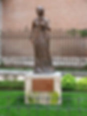 STATUE OF CATHERINE AT ALCALÁ DE HENARES