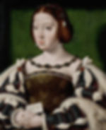 Eleanor of Austria Queen consort of France  Queen consort of Portugal  Spouses Manuel I of Portugal   Francis I of France   Father Philip I of Castile  Portrait by Joos van Clev   1530
