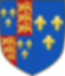 ARMS OF CATHERINE OF VALOIS AS QUEEN CONSORT OF ENGLAND