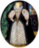 Penelope Rich,  Lady Rich, By Nicholas Hilliard 1590