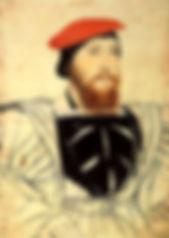 Thomas Boleyn, 1st Earl of Wiltshire by       Hans Holbein de Jonge
