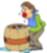 Apple Bobbing or Apple duckingorduck-apple