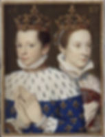 Mary and Francis in Catherine de' Medici's book of hours,  1558
