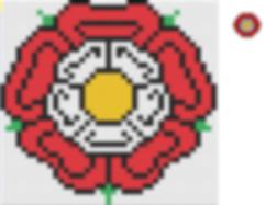 tudor rose cross stitch