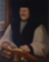 Matthew Parker Archbishop of Canterbury ArtistFlemish School  16th century