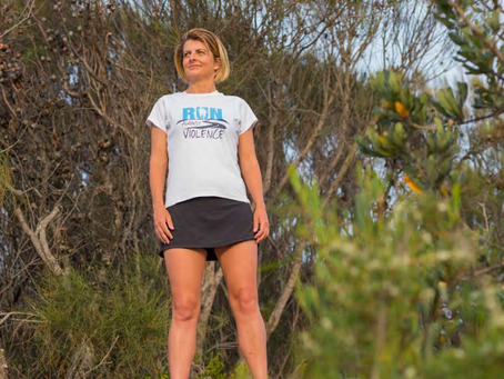 Broken Hill to Sydney on foot: Kirrily Dear's remarkable 'Run Against Violence'