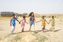 Touring Mala Ki Dhani with locals